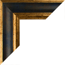 bilderrahmen nach ma in farbe blau gold ma genau online. Black Bedroom Furniture Sets. Home Design Ideas