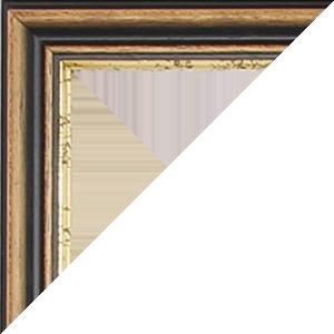 bilderrahmen nach ma in nussbaum gold fotorahmen onlineshop. Black Bedroom Furniture Sets. Home Design Ideas