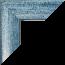 Bilderrahmen individuell Konfigurator Farbe Hellblau gewischt