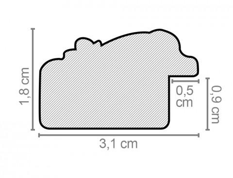 Individueller Massivholzrahmen Modell Mallorca