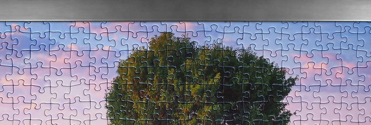 Puzzlerahmen nach Maß online bestellen, individuelle Formate