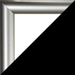 Individueller Bilderrahmen Modell Biggy, Farbe Silber