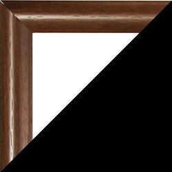 Individueller Bilderrahmen Modell Biggy Farbe Dunkelbraun