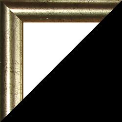Individueller Bilderrahmen Modell Biggy Farbe Gold antik