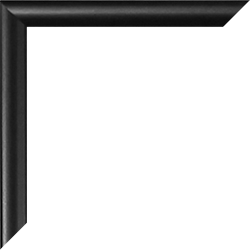 Individueller Bilderrahmen Sonderformat Modell Easy Schwarz matt