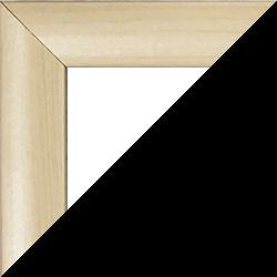 Individueller MDF Bilderrahmen Sonderformat Modell Palma Ahorn Dekor
