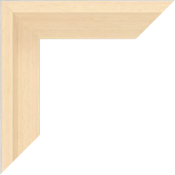 Individueller Bilderrahmen Modell Lyon Farbe Ahorn