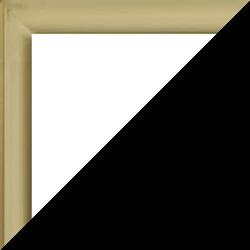 Individueller Bilderrahmen Modell Ottawa Farbe Alt Gold Matt