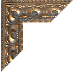 Individueller Bilderrahmen Modell Bristol Farbe Gold Antik