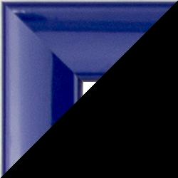 Individueller Bilderrahmen Modell Orlando Farbe Blau