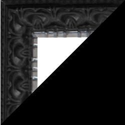 Individueller Bilderrahmen Modell Bristol Farbe Schwarz