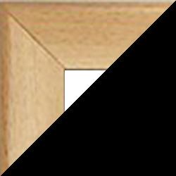 Individueller MDF Bilderrahmen Sonderformat Modell Palma Buche Dekor