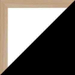 Individueller Bilderrahmen Modell Malena Farbe Buche