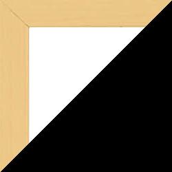 Individueller Bilderrahmen günstig nach Maß, Modell Quadro, Farbe Buche