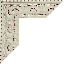 Individueller Bilderrahmen Modell Bristol Farbe Weiß