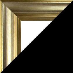 Individueller Bilderrahmen Modell Vienna Farbe Champagner Gold