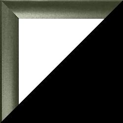 Individueller Bilderrahmen Modell Pisa Dunkelgrün gewischt