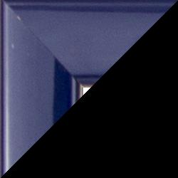 Individueller Bilderrahmen Modell Orlando Farbe Dunkelblau