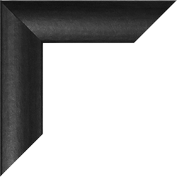 Individueller MDF Bilderrahmen Sonderformat Modell Palma (Eiche dunkel Dekor)