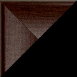 Individueller MDF Bilderrahmen Sonderformat Modell Pisa Eiche dunkel Dekor