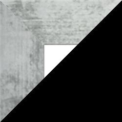 Individueller Billderrahmen Modell Oslo Farbe Eisen gewischt nach Maß im Onlineshop bestellen