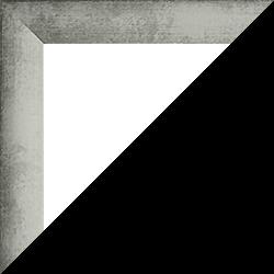 Individueller Bilderrahmen Modell Pisa Eisen gewischt