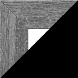 Individueller Billderrahmen Modell Oslo Farbe Grau Gewischt nach Maß im Onlineshop bestellen