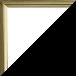 Individueller Bilderrahmen Modell Kingston Farbe Gold