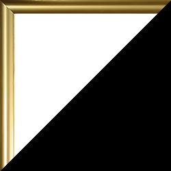 Individueller Bilderrahmen Modell Biggy Farbe Gold