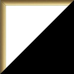 Aluminium Foto-Rahmen Hamilton Sonderformat Farbe Gold schlicht