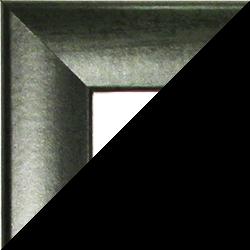 Individueller Bilderrahmen Sonderformat Modell Pisa Dunkelgrün gewischt