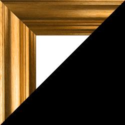 Individueller Bilderrahmen Modell Vienna Farbe Gold Vintage