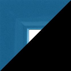 Individueller Bilderrahmen Modell Orlando Farbe Hellblau