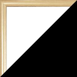 Individueller Bilderrahmen Modell Biggy Farbe Holzdekor hell