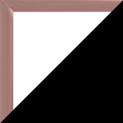 Individueller Bilderrahmen Modell Kingston Farbe Kupfer