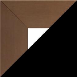 Individueller Billderrahmen Modell Oslo Farbe Kupfer Dekor nach Maß im Onlineshop bestellen