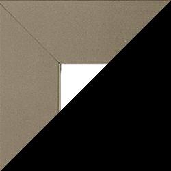 Individueller Billderrahmen Modell Oslo Farbe Gunmetal nach Maß im Onlineshop bestellen