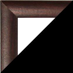 Individueller MDF Bilderrahmen Sonderformat Modell Palma Mahagoni