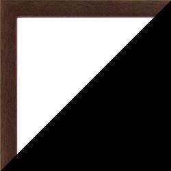 Individueller Bilderrahmen Modell Talon Farbe Massivholz Braun