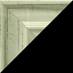 Individueller Bilderrahmen Modell Bergamo Farbe Metall Glanz