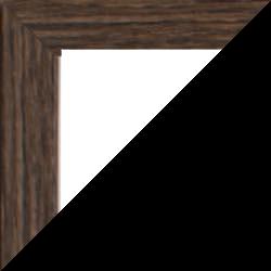 Individueller Bilderrahmen günstig nach Maß, Modell Quadro, Farbe Mooreiche