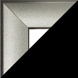 Individueller Bilderrahmen Sonderformat Modell Pisa Silber matt