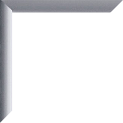"Fotorahmen / Bilderrahmen ""Kingston"", Farbe: Silber Matt"