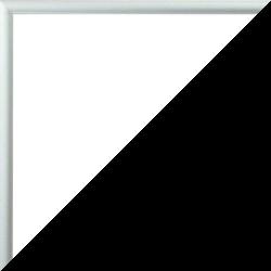 Individueller Bilderrahmen Modell Ottawa Farbe Silber Matt