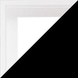 Individueller Bilderrahmen Modell Madeira Farbe Weiß