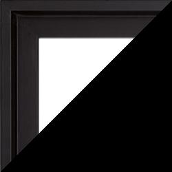 Individueller Bilderrahmen Modell Madeira Farbe Schwarz
