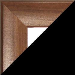 Individueller Bilderrahmen Sonderformat Modell Pisa Nussbaum dunkel Dekor
