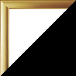 Individueller Bilderrahmen Modell Orlando Farbe Gold Patiniert
