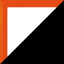 Individueller Bilderrahmen Modell Orlando Farbe Orange