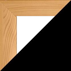 Individueller Bilderrahmen Modell Pisa Kiefer Dekor